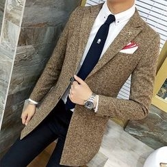 Bay Go Mall - Tweed Blazer
