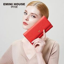 Emini House - Genuine Leather Long Wallet