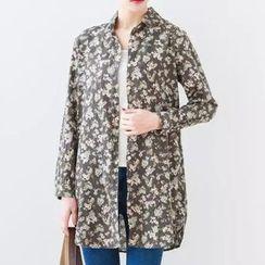 Nycto - Floral Long Shirt