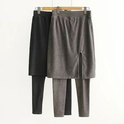 Nycto - Inset Skirt Leggings