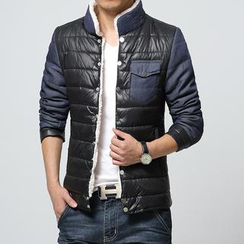 Alvicio - Stand-Collar Padded Jacket