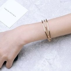 Momo Town - Geometric Line Bangle
