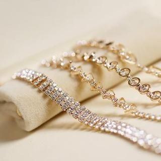 Love Generation - Rhinestone Bracelet