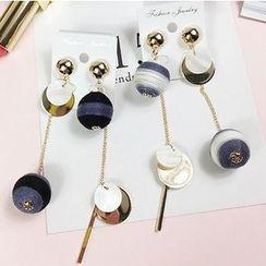 True Glam - Ball Non-Matching Earrings