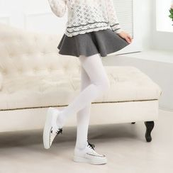 Abarana - Plain Thigh High Socks