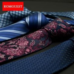 Romguest - Patterned Silk Neck Tie