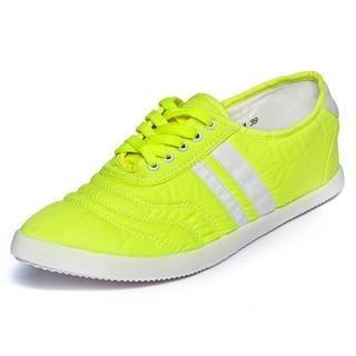 yeswalker - Contrast Stripe Point-Toe Sneakers
