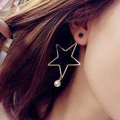 Kulala - Star Non-Matching Earrings