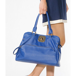 59 Seconds - Twist-Lock Zip Satchel