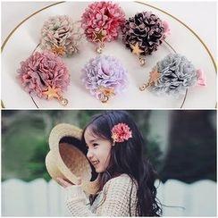 Aurabe - Kids Flower Hair Clip / Hair Tie
