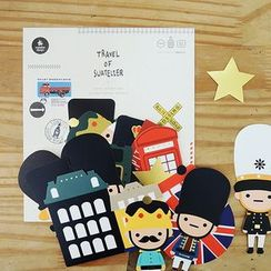 BABOSARANG - 'THE TOY SOLDIERS' Sticker Set