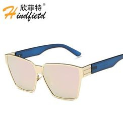 Koon - Metal Frame Square Sunglasses
