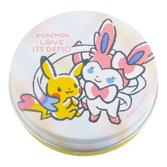 ITS' DEMO - Pokemon Club Airy Touch Powder (Pikachu & Sylveon Tin)