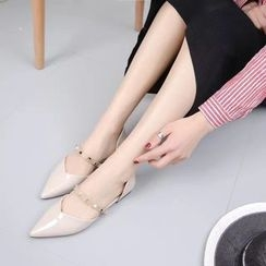 Meohip - Pointed Studded Flats