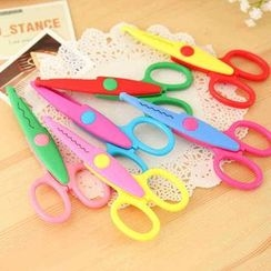 Red Unicorn - Color-Block Scissors