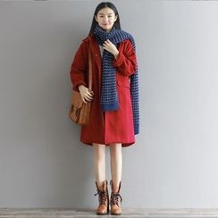 Cherry Dress - Hooded Coat