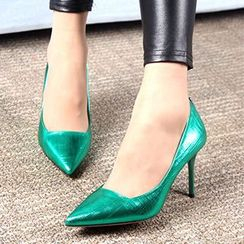 Forkix Boots - High Heel Pointy Pumps