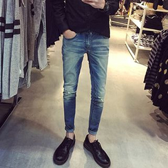 Streetstar - Washed Skinny Jeans
