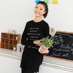 59 Seconds - Lettering T-Shirt Dress