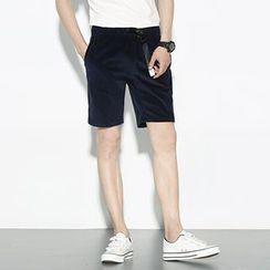 Mr. Only - 灯芯绒短裤