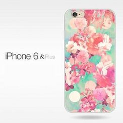 Kindtoy - iPhone 6 / 6 Plus Floral Case