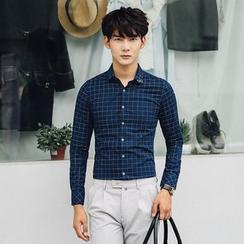 Simsam - Plain Long-Sleeve Shirt