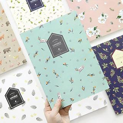 Full House - Floral Notebook (Medium)