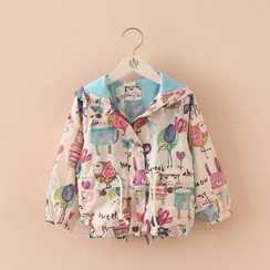 Seashells Kids - Kids Printed Hooded Jacket
