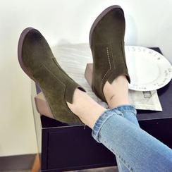 kokoin - Chunky Heel Ankle Boots