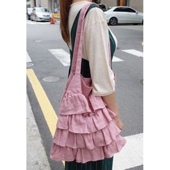 BBORAM - Ruffled Shopper Bag