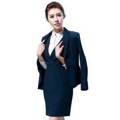 艾尚臣 - 一粒扣西裝 / 無袖連衣裙 / 襯衫