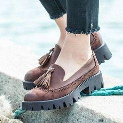 MIAOLV - Tasseled Loafers