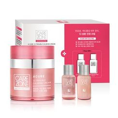 CAREZONE - Doctor Solution A-Cure 13 Trouble Calming Cream Set: Cream 50ml + Clarifying Toner EX 31ml + Emulsion EX 31ml