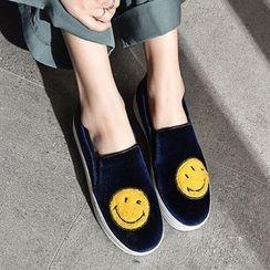 幸福鞋坊 - 貼布繡輕便鞋