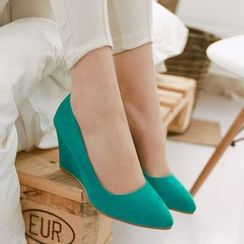 Freesia - Wedge Pumps