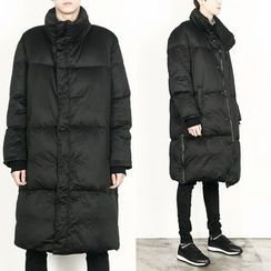 Remember Click - Duck-Down Long Zip-Up Parka