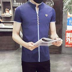 Evzen - 短袖V領T恤