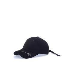Ohkkage - Zip-Detailed Baseball Cap