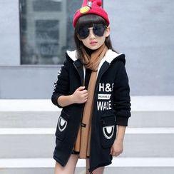 LAPIN - Kids Fleece Lined Hooded Long Jacket
