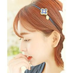 Miss21 Korea - Flower Pattern Hair Band
