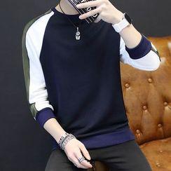 Alvicio - Panel Raglan Sweatshirt