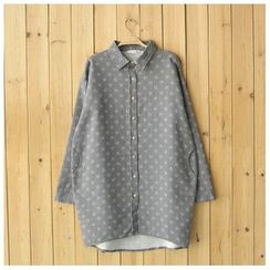 Rosadame - 图案长袖衬衫