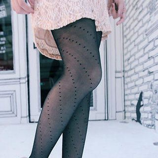 Clair Fashion - Polka Dot Tights
