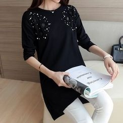 Bubbleknot - Long-Sleeve Knit Dress