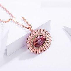 伊泰莲娜 - 仿宝石项链