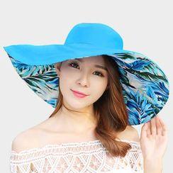 Agisnow - Floral Print Sun Hat