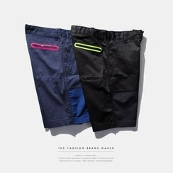 Newin - Color Block Shorts