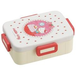 Skater - Hello Kitty 4 Lock Lunch Box (Color Pencil)