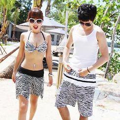 Tamtam Beach - 斑马纹沙滩裤