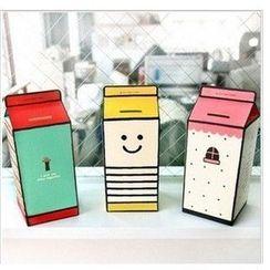 objets d'love - Milk Box Coin Bank